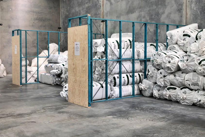 bags of insulation
